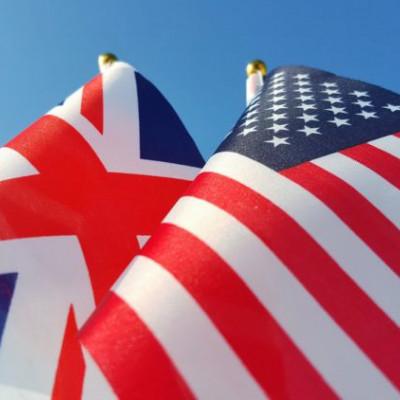 Flag UK & US