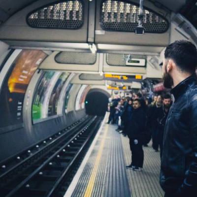 CCTV, Crowd, London underground