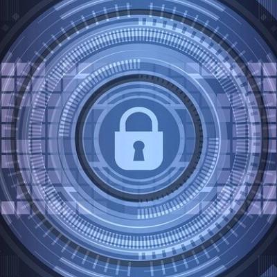 Computer Security image, Padlock