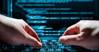 Laptop, Typing, Hacker