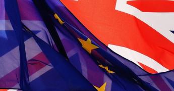 Flag EU, UK