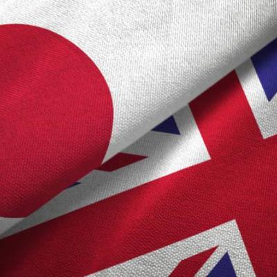Flag UK , Japan