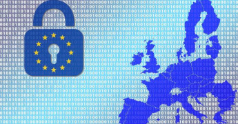 Map of Europe, Binary, Data Protection, eprivacy