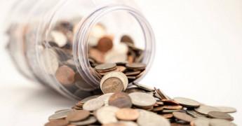 Jar of coins, Money, Fine
