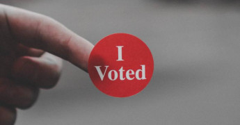 I Voted, Politics, Facebook