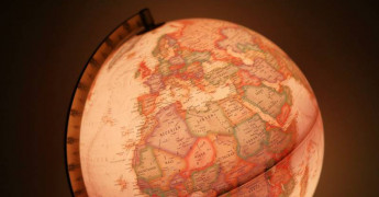 Map, Globe, Europe
