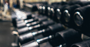 Dumbells, gym