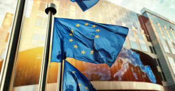 EU Flag, EU Parliament