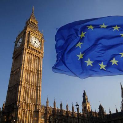EU Flag, Westminster
