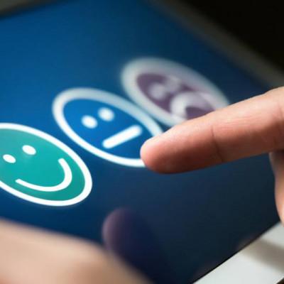 Positive customer survey, satisfaction