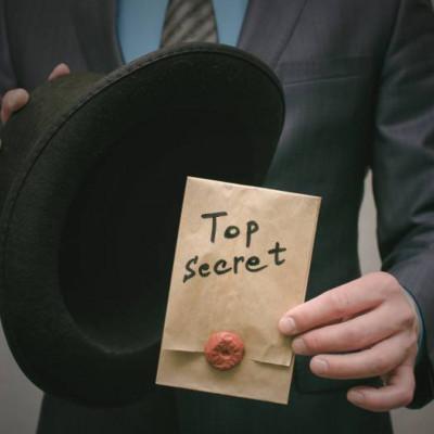 Top secret, dossier, file, spy