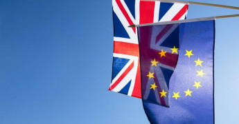 EU, UK Flags, Brexit, Data Transfer, Adequacy