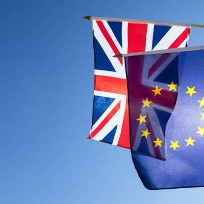 EU, UK Flags, Brexit, Data Transfer, Adequacy