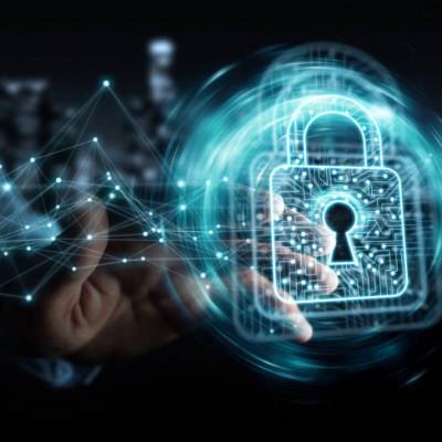 Businesman, Digital padlock data