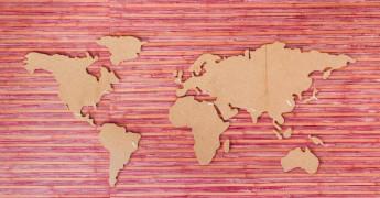 Data Transfer, World map
