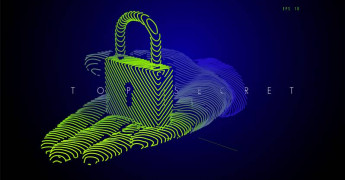 Padlock, data protection, digital image