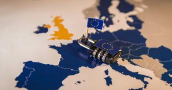 EU Map, Padlock