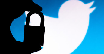 Twitter privacy, padlock