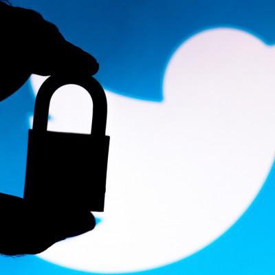 Twitter privacy, padlock