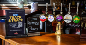 Test and trace, contact tracing, pubs and restaurants