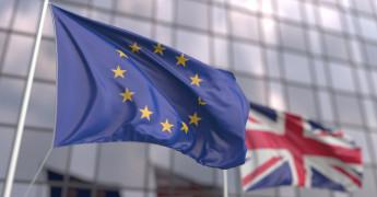 EU UK Flags, Brexit