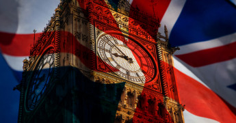 Westminster, Politics, UK Flag