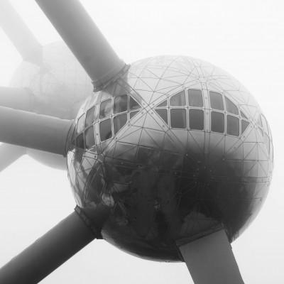 Square de l'Atomium, Brussels, Belgium