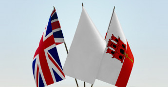UK, Gibralter flag