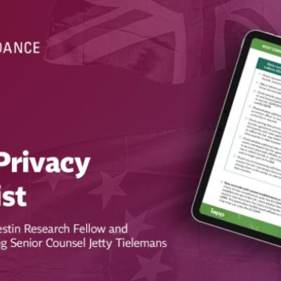 Brexit Privacy Checklist