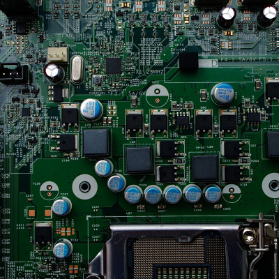 Computer mother board, computer chips