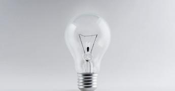 Light bulb, innovation, eureka
