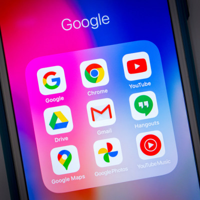 Google apps on iphone