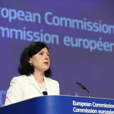EU Commissioner Vera Jourova