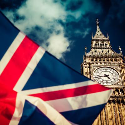UK flag, Westminster, Big Ben