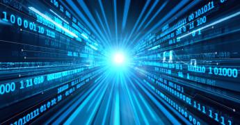 Binary data, digital image