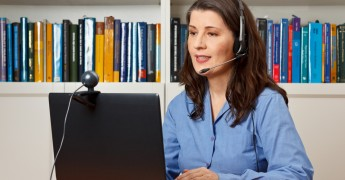 Call centre, webcam, homeworking