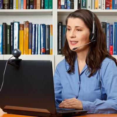 Call centre, webcam, homeworking