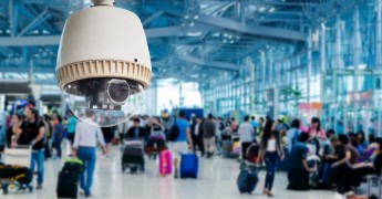 Facial recognition, CCTV in airport