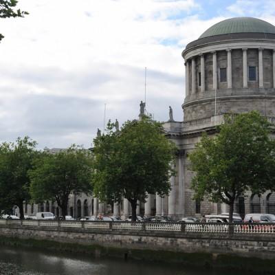 Irish four courts, high court