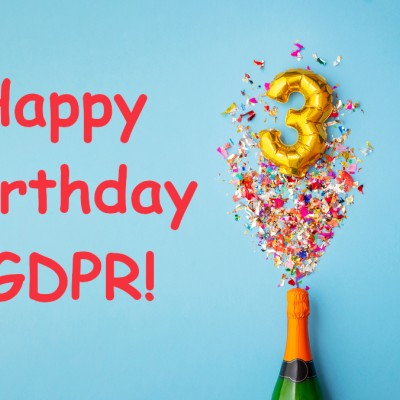 GDPR 3rd Birthday