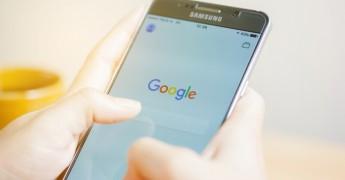 Samsung smartphone, Google Searcg