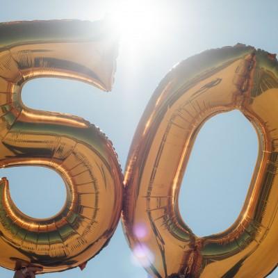 50th ballons birthday
