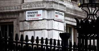 Downing Street, Whitehall street signs