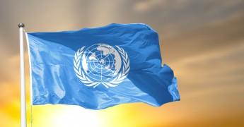 UN, United Nations flag UN flag
