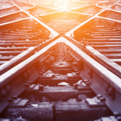 crossroad, railway train track junction, privacy and antitrust
