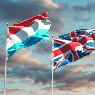 UK Luxembourg flag