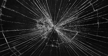 Broken glass - move fast, break things