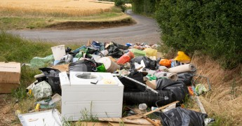 Fly tipping, rubbish