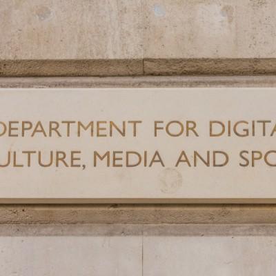 Digital, Culture, Media and Sport, DCMS