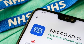 NHS England COVID app, data store